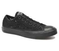 Chuck Taylor All Star Crochet Ox W Sneaker in schwarz