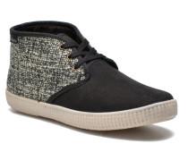 Safari Tweed Antelina Sneaker in schwarz