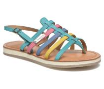 Hippie Sandalen in blau