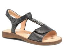 Klarinette Sandalen in schwarz