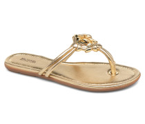 Kinley Thong Zehensandalen in goldinbronze