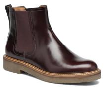 Oxfordchic Stiefeletten & Boots in weinrot