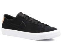 Blazer Studio Low Sneaker in schwarz