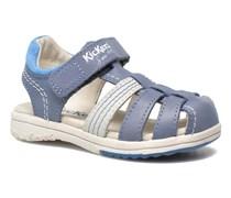 Platinium Sandalen in blau