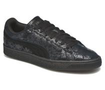 Suede Classic Wn's Sneaker in schwarz