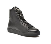 Basket sangle high Sneaker in schwarz