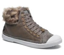 Basic 03 Fur Sneaker in grau