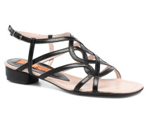 Aplat Sandalen in schwarz