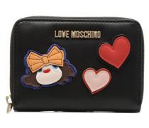 Portefeuille Girls & Heart Portemonnaies Clutches für Taschen in schwarz