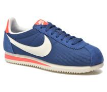 Wmns Classic Cortez Txt Sneaker in blau