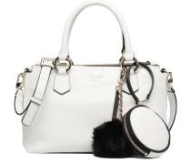 Tenley Small Status Satchel Handtaschen für Taschen in weiß