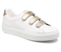 Deportivo Piel Velcros Degr Sneaker in goldinbronze