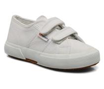 2750 J Velcro E Sneaker in weiß
