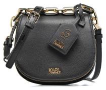 Grainy Small Satchel Handtaschen für Taschen in schwarz