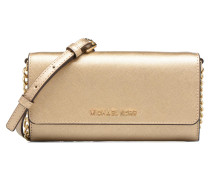 Jet Set Wallet on a chain Handtaschen für Taschen in goldinbronze