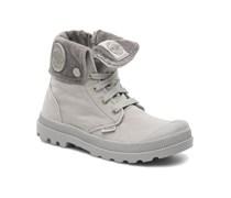 Baggy Zipper K Stiefeletten & Boots in grau