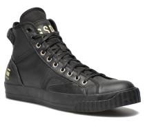 Campus Raw Scott Hi Lthr Sneaker in schwarz