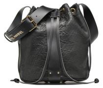 BONDAGE Bucket Handtaschen für Taschen in schwarz
