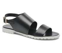 Lunaire Sandalen in schwarz