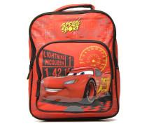CARS BACKPACK 35 CM Schulzubehör für Taschen in rot