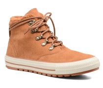 Chuck Taylor All Star Ember Boot Suede + Fur Hi Stiefeletten & Boots in braun