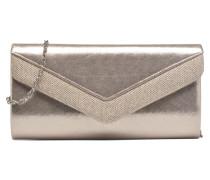 Pochette glitter Mini Bags für Taschen in silber