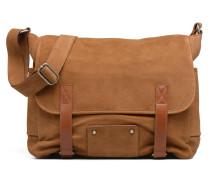 Messenger James Cuir Herrentaschen für Taschen in braun