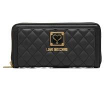 Super quilted Wallet Portemonnaies & Clutches für Taschen in schwarz