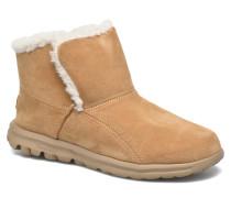 Go Walk Chugga Stiefeletten & Boots in beige