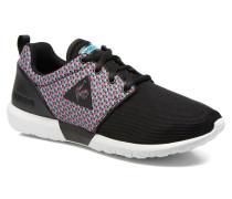 Dynacomf Geo Jacquard Sneaker in schwarz