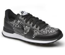 W Internationalist Print Sneaker in schwarz