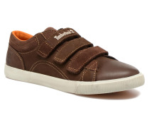 Glastenbury Hook & Loop O Sneaker in braun