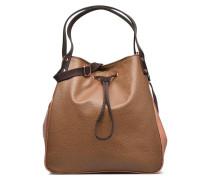 Cabas lacet Grainé Handtaschen für Taschen in beige