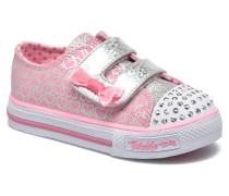 Shuffles Glitter Pop Sneaker in rosa