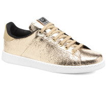 Deportivo Craquelado Sneaker in goldinbronze