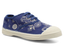 Tennis Bandana E Sneaker in blau