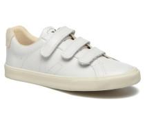 3 Lock Sneaker in weiß