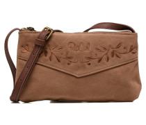 Talamanca suede Festival bag Handtaschen für Taschen in braun