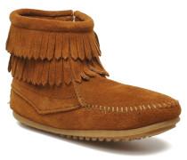 Double Fringe bootie G Stiefeletten & Boots in braun