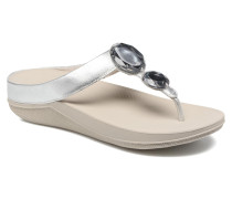 Luna Pop Zehensandalen in silber