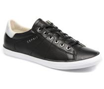 Miana Lace Up Sneaker in schwarz