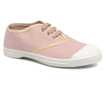 Tennis Lacets Shinypiping E Sneaker in rosa
