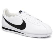 Classic Cortez Leather Sneaker in weiß