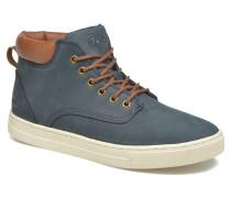 Roswell N Mid Sneaker in blau