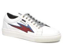 Studded Star Loafer Sneaker in weiß