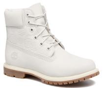 6in Prenium Boot Stiefeletten & Boots in weiß