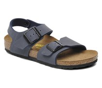 New York Birko Flor Sandalen in blau