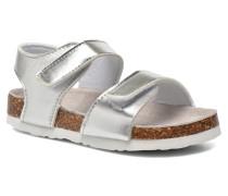 Bio Laminated Sandals Sandalen in silber