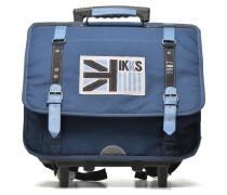 Cartable UK 41cm Trolley Schulzubehör für Taschen in blau