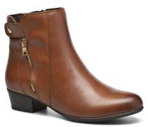 Dagny Zip Stiefeletten & Boots in braun